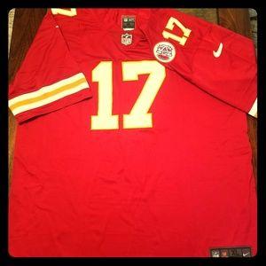Kansas City Chiefs #17 Mecole Hardman